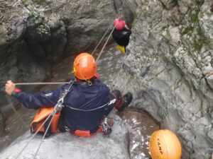 Canyoning Calabria Fiume Lao